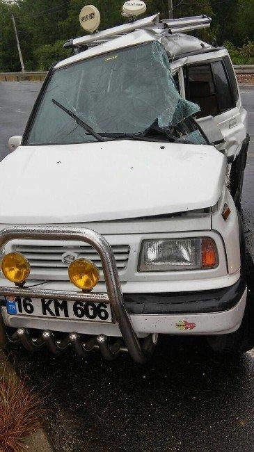 Bilecik'te trafik kazası: 1'i çocuk 4 yaralı