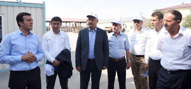 Büyükşehir'in meclis üyeleri çalışmaları gezdi