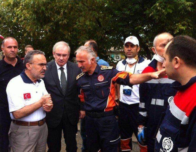 İBB sel felaketi sonrası Makedonya'nın yanında