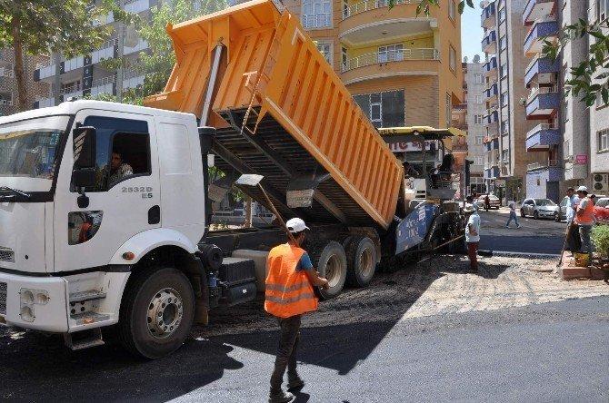 Siirt Belediyesinden asfaltlama çalışması