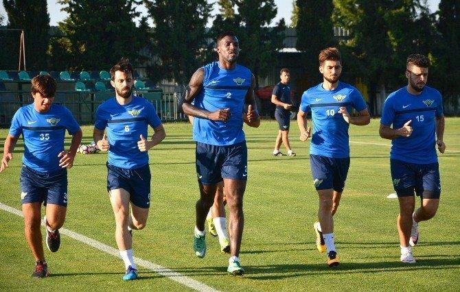 Akhisar Belediyespor, Kayserispor maçı hazırlıklarına başladı