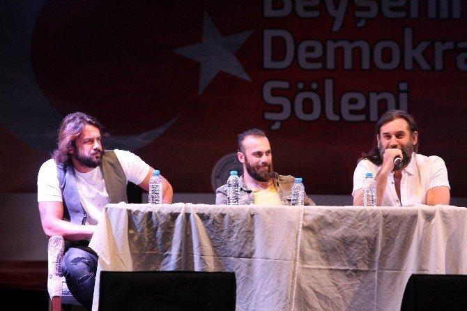 'Diriliş Ertuğrul' ve 'Filinta' dizilerinin oyuncuları Beyşehir'de