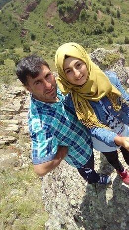 Baba ile kızından geriye son fotoğrafları kaldı