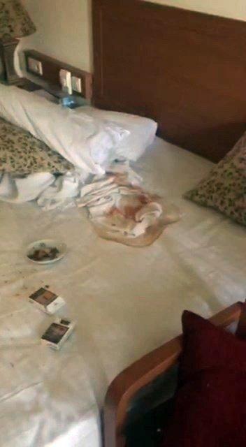 Darbeciler, Cumhurbaşkanı Erdoğan'ın kaldığı villayı adeta kurşun yağmuruna tutmuş