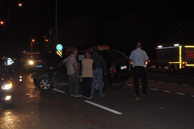 Eskişehir'de trafik kazası: 7 yaralı