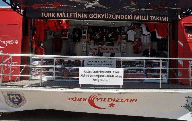 Türk Yıldızları tırı Aydın'da