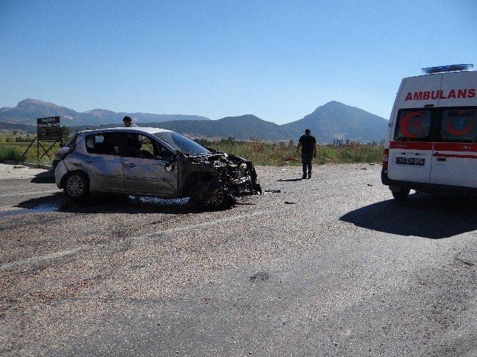 Gölpazarı'nda trafik kazası: 4 yaralı