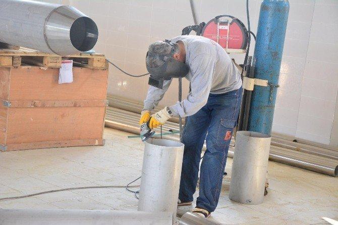 Bayramdere Barajı'nda içme suyu çalışmaları
