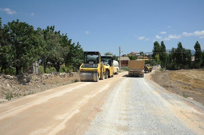 Beyşehir'de 22 kilometrelik grup yoluna 2,5 milyon lira