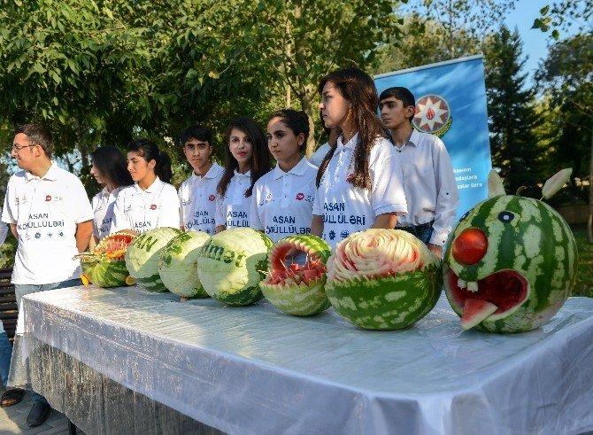 Azerbaycan'da Karpuz Festivali düzenlendi
