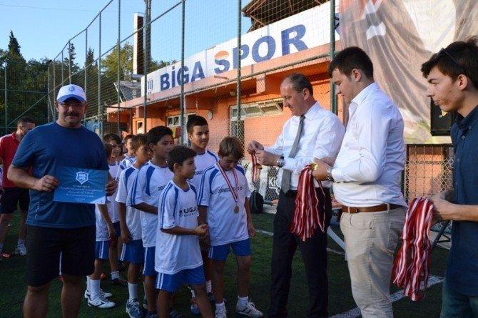 Bigaspor'un yaz okulu sona erdi