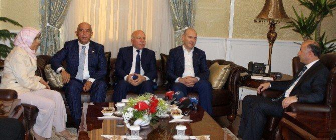 Çalışma ve Sosyal Güvenlik Bakanı Süleyman Soylu, Erzurum'da