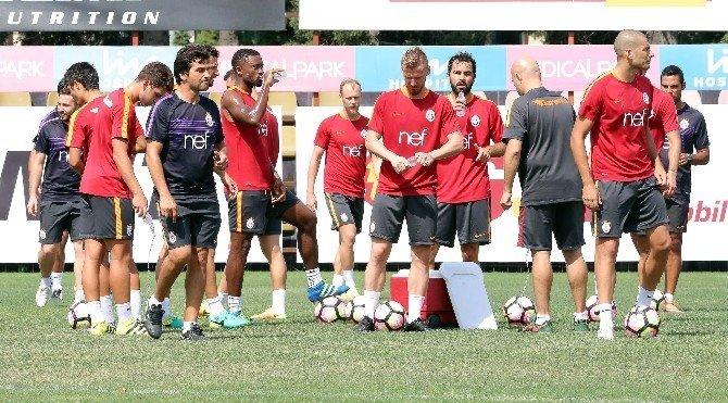 Galatasaray, Karabükspor maçına hazırlanıyor