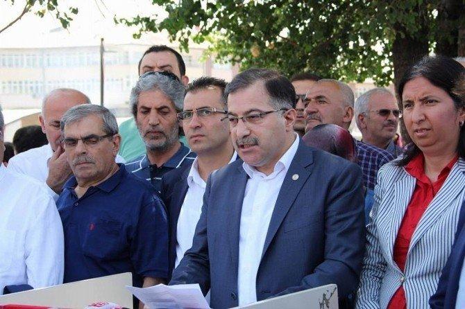 Sivas'ta terör saldırılarına ortak tepki