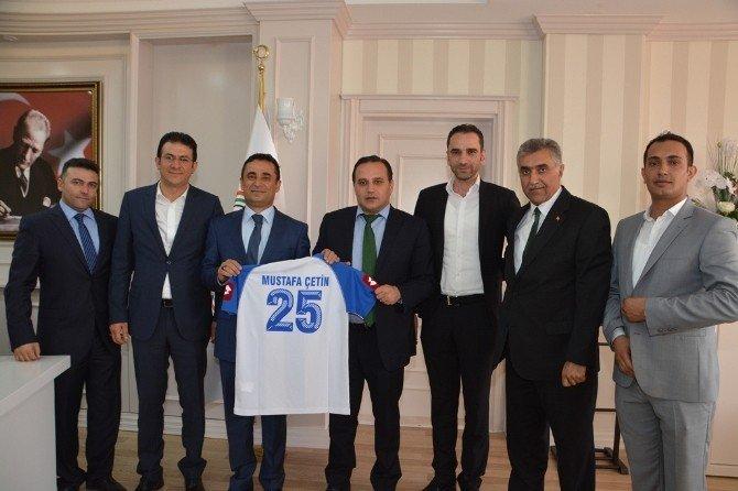 BB Erzurumspor'dan yargı başkanlarına ziyaret