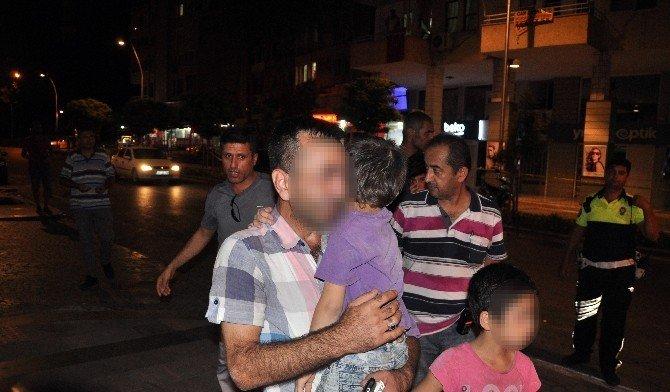 Kaybolan kızına kavuşmak için iki çocuğuyla birlikte intihara kalkıştı