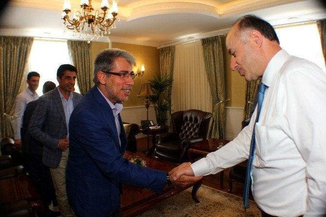 MÜSİAD'dan Vali Azizoğlu'na ziyaret