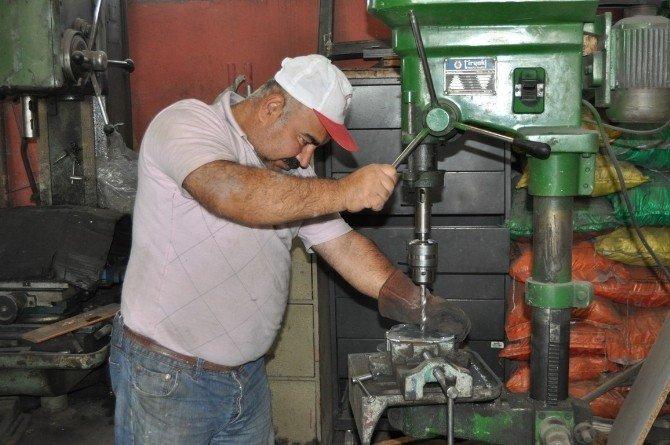 Seydişehir Belediyesi'nin atölyeleri çalışıyor