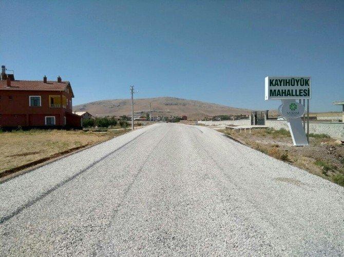 Alakova-Boyalı-Kayıhüyük arasında yol standardı yükseldi