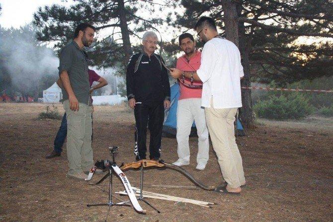 Derbent'te Bilgehane doğa kampı kuruldu