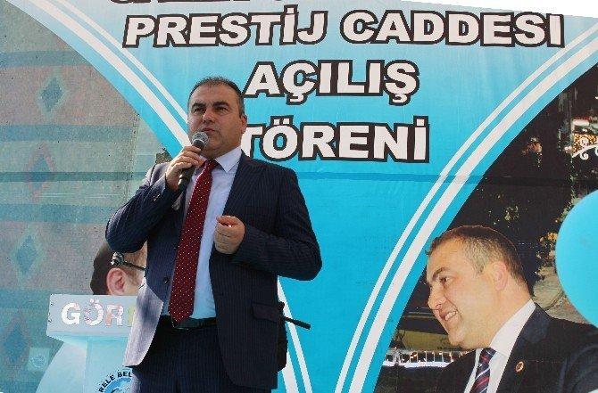 Görele'de Sinirlioğlu Prestij Caddesi açılışı yapıldı