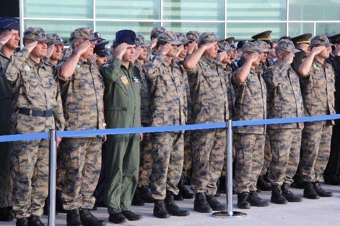 Şehit özel harekat polisinin naaşı Konya'ya getirildi