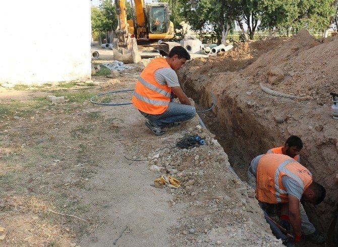 Yunak'ın 6 mahallesine 157 kilometre kanalizasyon şebekesi