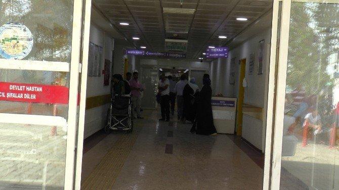 Elektrik akımına kapılan Suriyeli işçi ağır yaralandı
