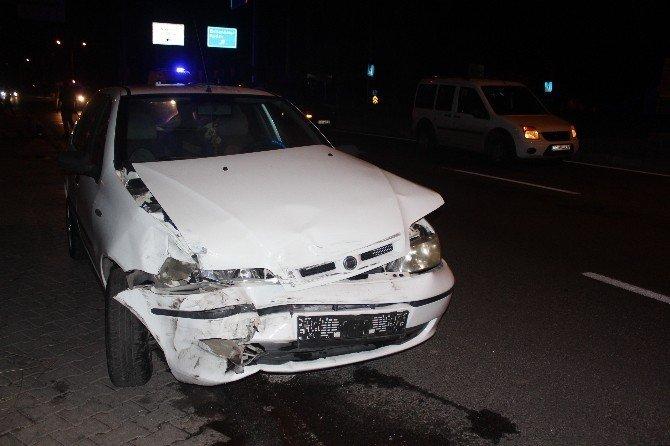 Nazilli'de alkol kazaya neden oldu