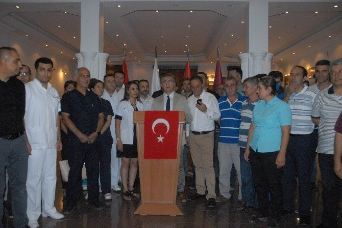 Diyarbakır Askeri Hastanesi'nde devir teslim töreni