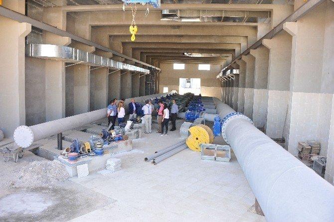 Karaman'da içme suyu çalışmaları devam ediyor