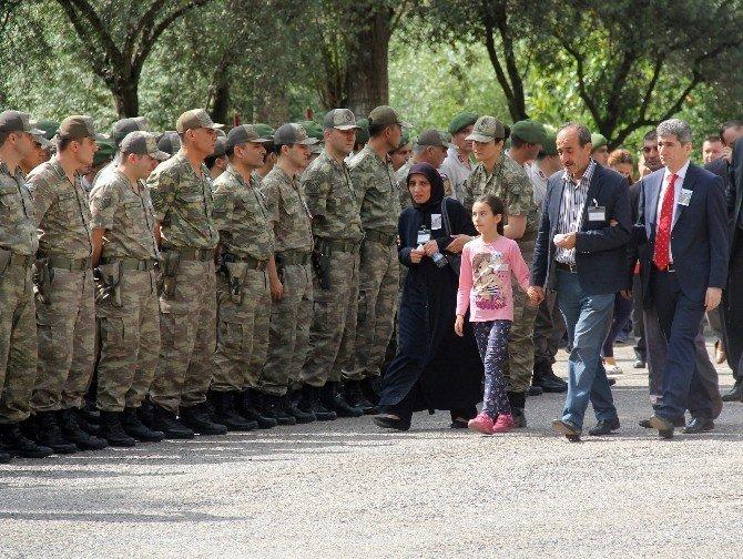 Şehit Jandarma Er Fatih Çaybaşı için tören düzenlendi