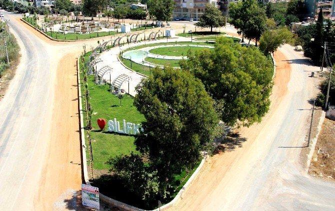 Silifke'de Su Büklümü Parkında sona gelindi