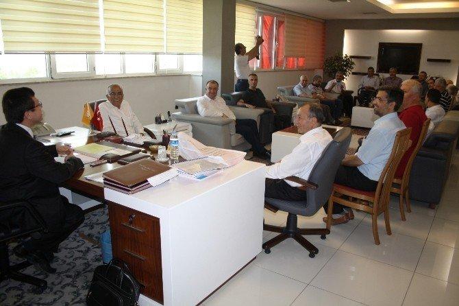 STK'lardan Rektör Kızılay'a ziyaret