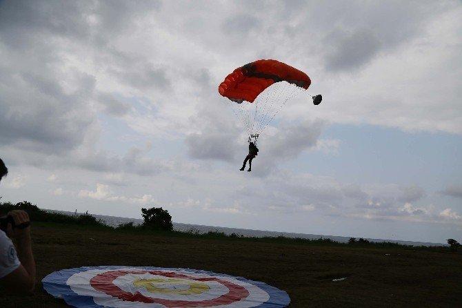 260 metre yüksekten serbest atlayış