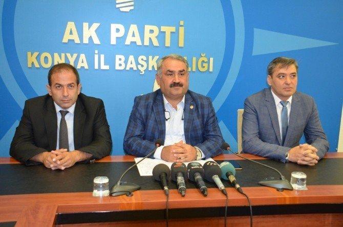 """AK Partili Etyemez: """"Amacımız terörü ortadan kaldırmak"""""""