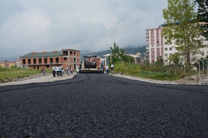 Görele Belediyesi'nden asfalt hamlesi