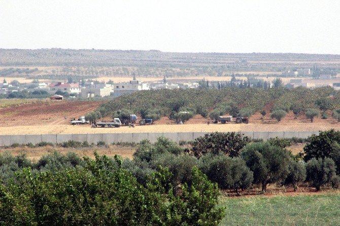 IŞİD saldırısından korkan Suriyeliler RAİ bölgesine geliyor