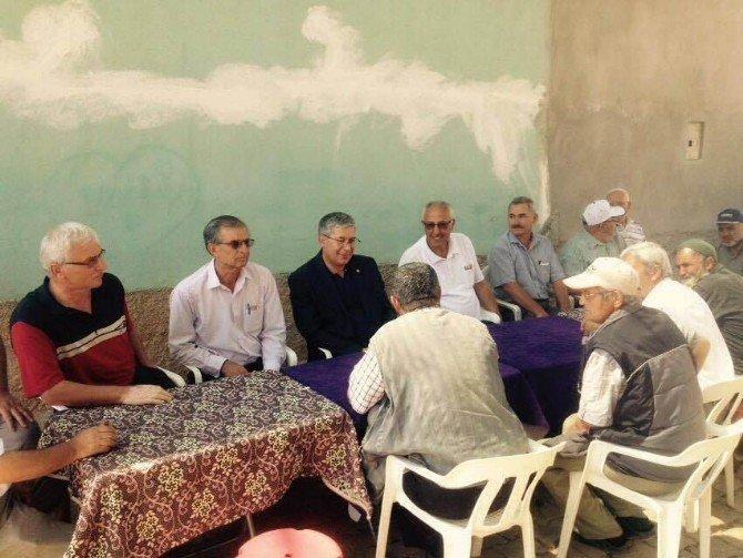 Milletvekili Babaoğlu Hüyük'te incelemelerde bulundu