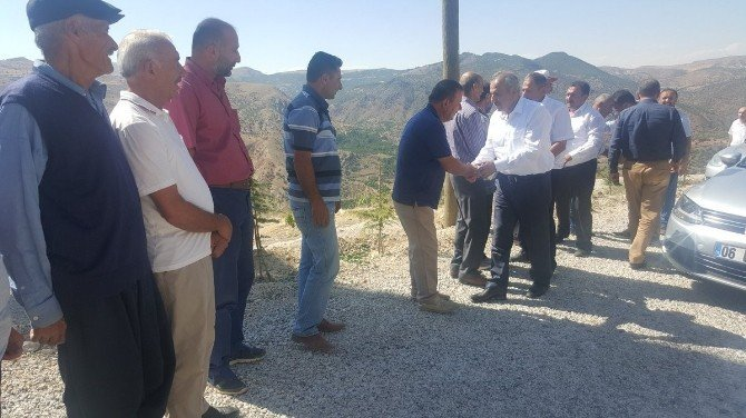 Milletvekili Mustafa Şahin Hekimhan'da incelemelerde bulundu
