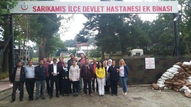 Sarıkamış Devlet Hastanesi ek binası hizmete açıldı