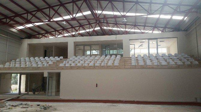 Spor salonu hazırlanıyor