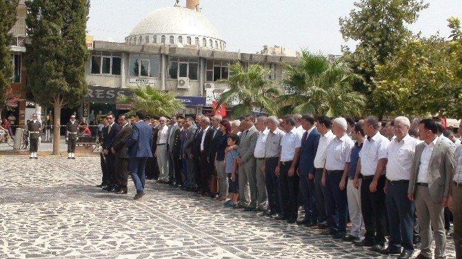 30 Ağustos, Kızıltepe'de törenle kutlandı.