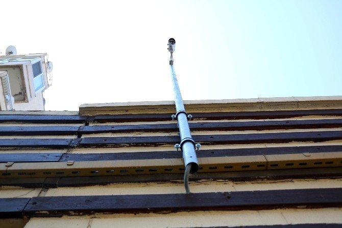 Antalya'nın üst geçitlerine IP kamera