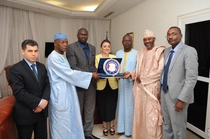 Atasoy, Senegal Başbakanı Dionne ile görüştü