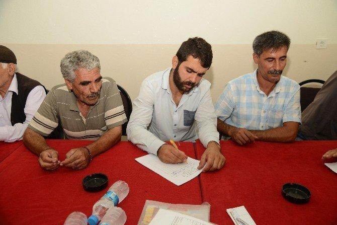 Liceli çiftçiler organik tarım sözleşmesine imza attı