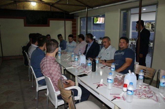 TÜGVA'nın Ergene'de açılması planlanan şubesi ile ilgili istişare toplantısı