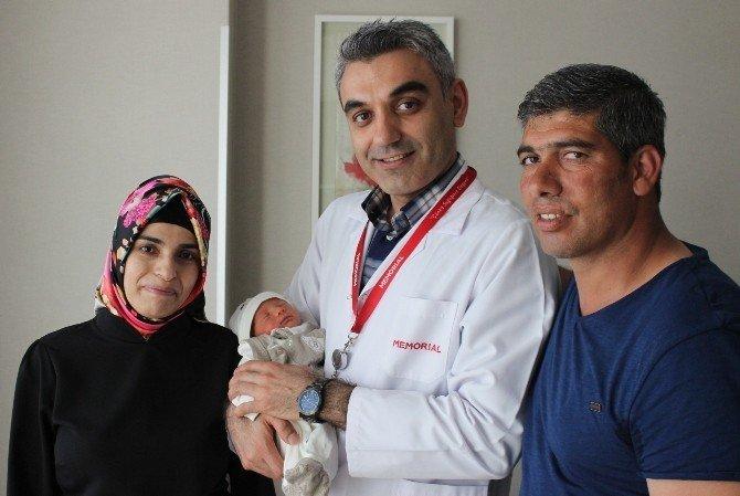 20 yıllık hasret Umut bebekle son buldu