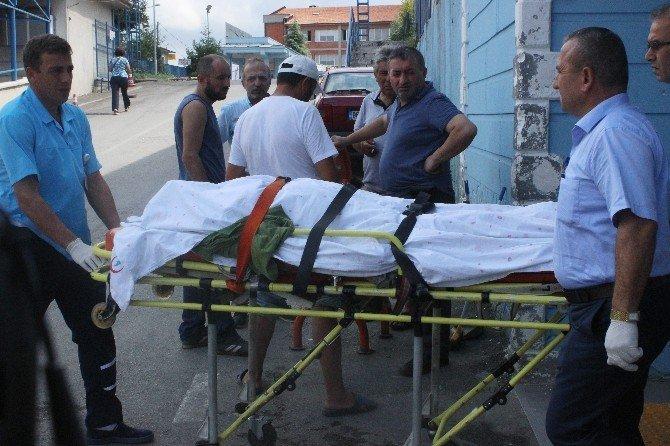 Bartın'da balkon inşaatı çöktü: 1 ölü, 1 yaralı