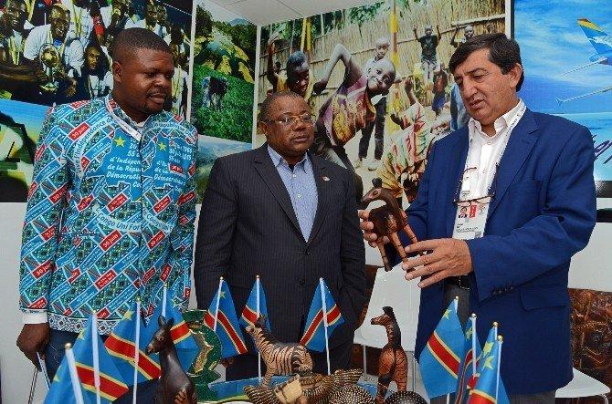 Demokratik Kongo heyeti EXPO 2016'yı ziyaret etti